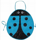 Blue Waterproof Children's Ladybird Apron